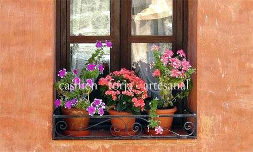 barandilla de hierro baranda para ventana mini balcon 1m