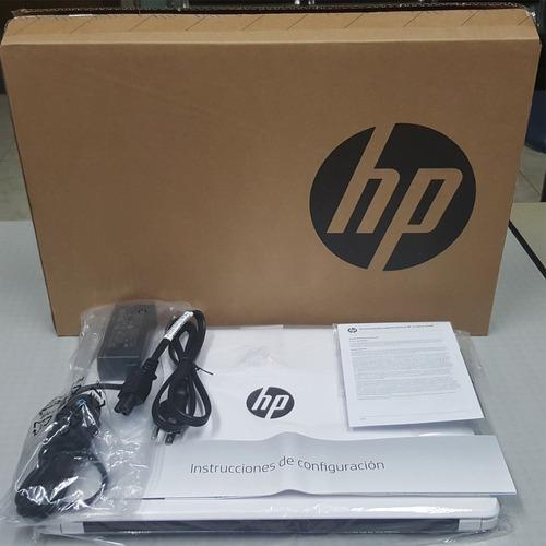 barata laptop hp 14 intel core i3 4gb 1tb 100% nueva t. espñ