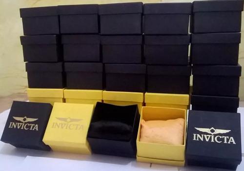 barato kit c/4 relógios masculinos + caixa revender luxo