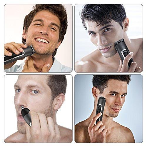 barba recortador kit para los hombres, kebor 3 en 1 nariz p