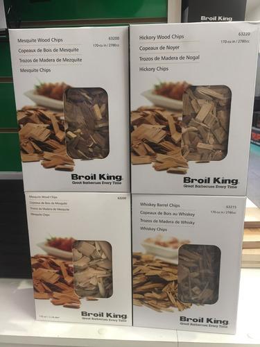 barbacoa - chips para ahumar de madera natural herracor