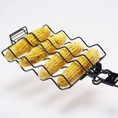 barbacoa - parrilla soporte para choclos cod. 24890 herracor
