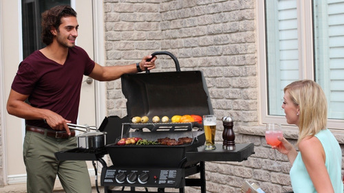 barbacoas a gas y accesorios broil king grill pro c/hornalla