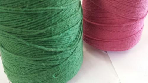 barbante dubom nº8  rolo 550m  100% algodão