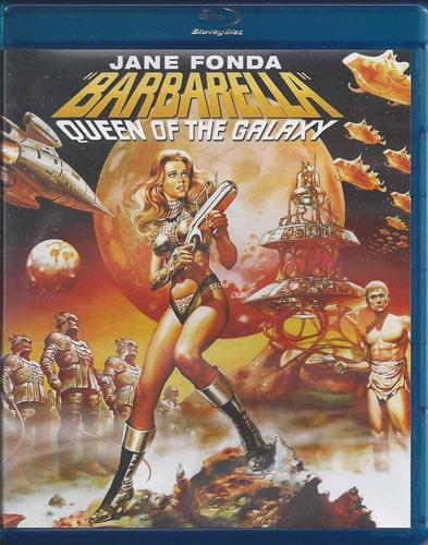 barbarella la reina de la galaxia blu-ray importado español