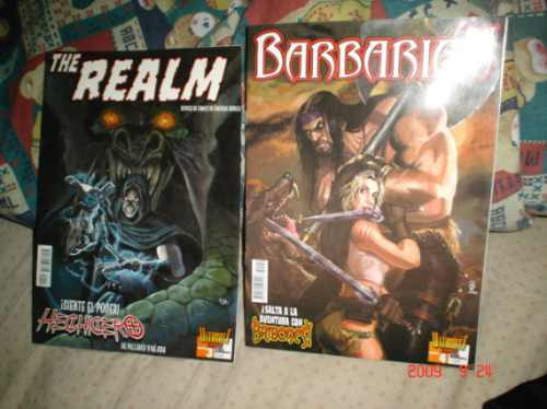 barbarian  y the realm.fantasia heroica esp.ultimate comics