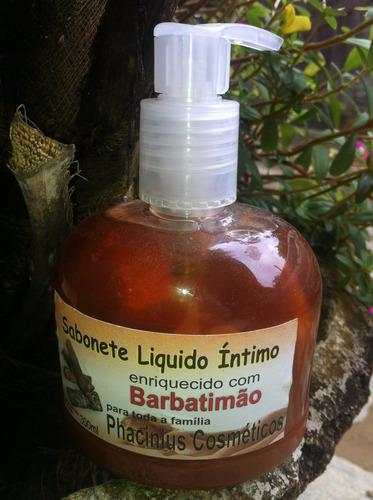 barbatimão sabonete íntimo (100% natural) 03 unidades