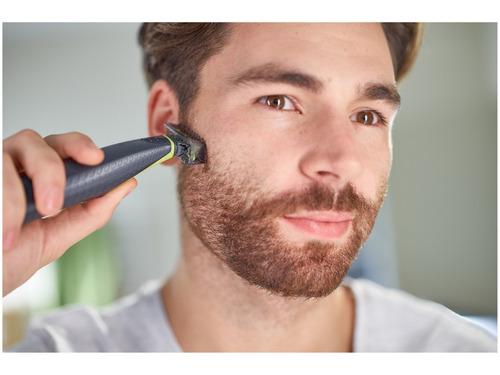 barbeador apara oneblade philips  seco molhado