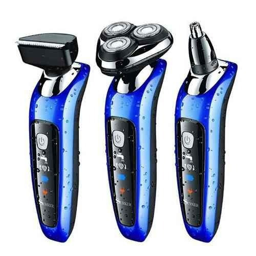 Artesanato Reciclagem Garrafa Pet ~ Barbeador Eletrico 3 Cabeças Bateria Aparador Pelos Nariz R$ 145,00 em Mercado L