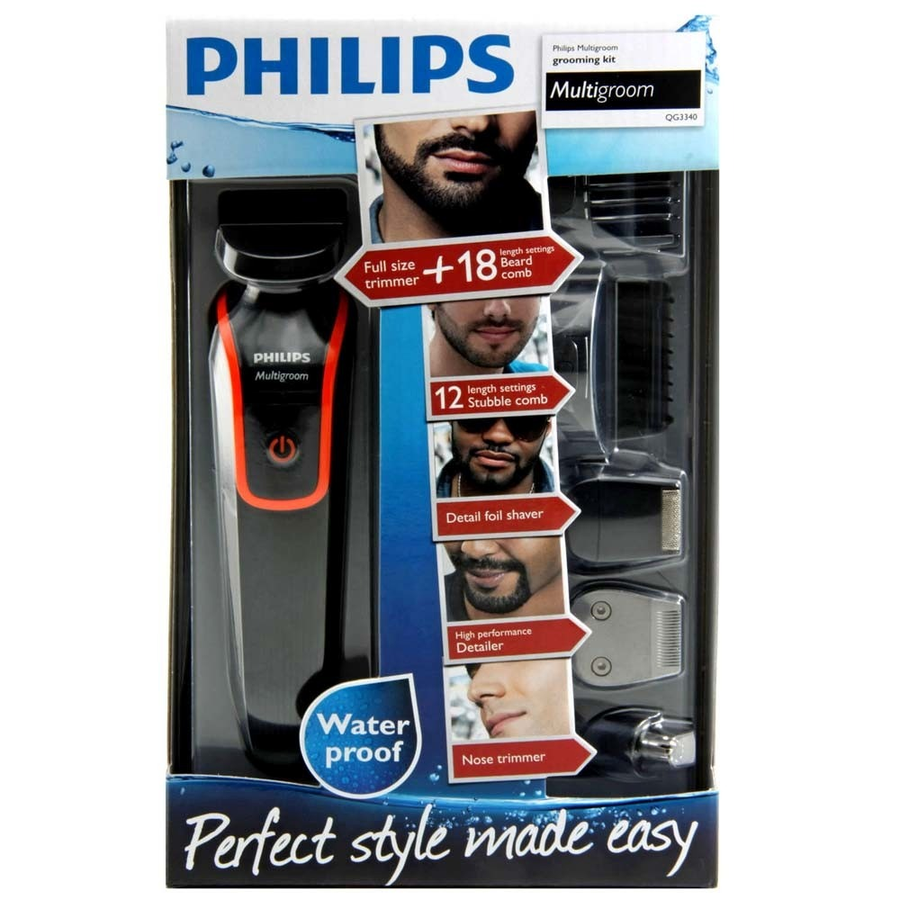 Armario Escritorio Preto ~ Barbeador Elétrico Aparador De Pelos Multigroom Philips R$ 219,99 em Mercado Livre