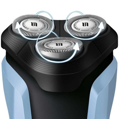 barbeador elétrico philips multigroom seco e molhado s1070