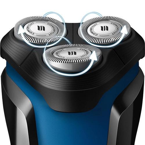 barbeador eletrico philips s1030 aquatouch a prova d'água