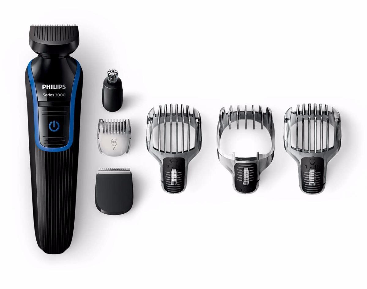 Barbeador Kit Aparador De Pelos Máquina Fazer Barba Philips - R  179 ... 1cfccf7f8511