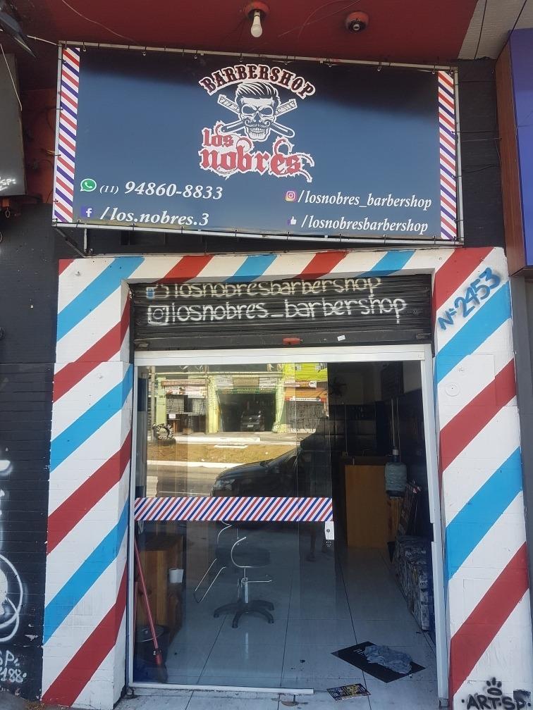 barbearia. passo o ponto