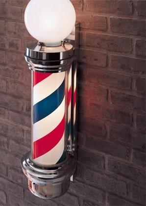 barber pole aviso barber shop poste de barberia americanousa