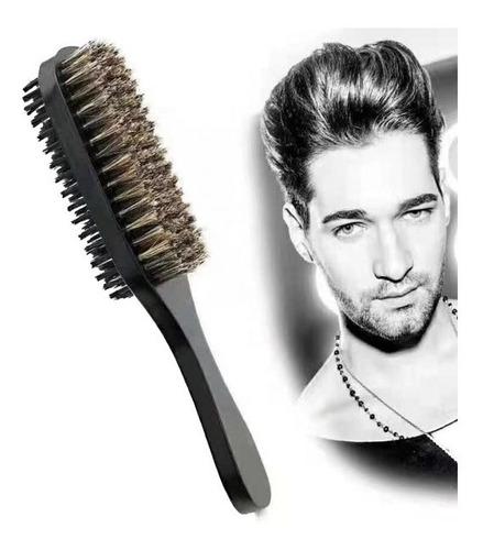 barbería : cepillo doble para barba y cabello