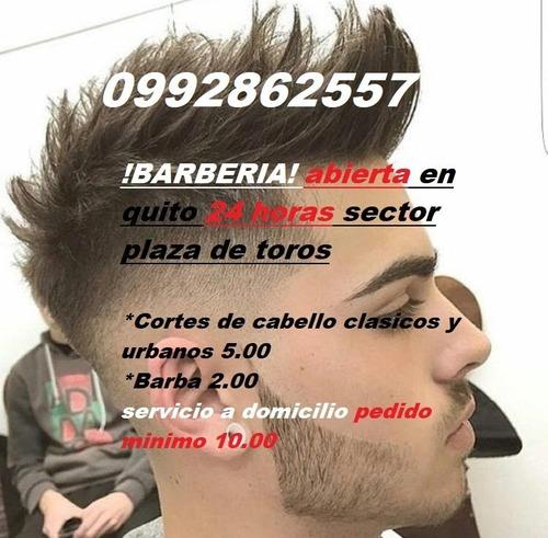 barbero a domicilio en quito