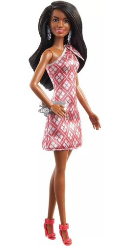 barbie 2020 holiday doll negra playline aa