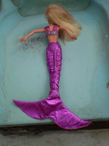 barbie antiga mattel sereia