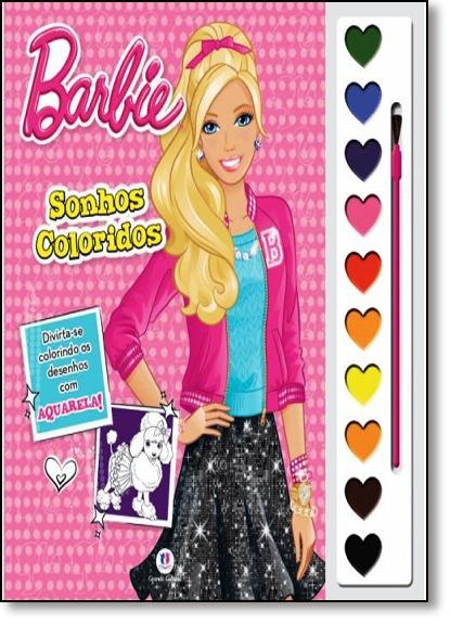 Barbie Aquarela Sonhos Coloridos R 14 45 Em Mercado Livre