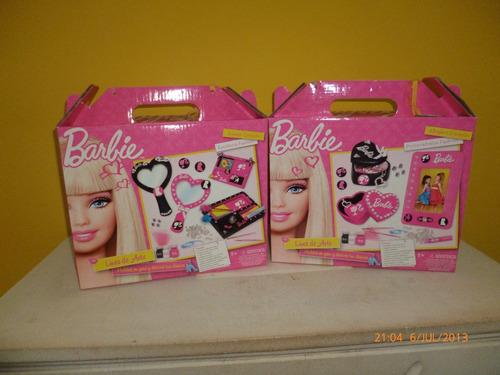 barbie arte en yeso nuevo en caja cerrado