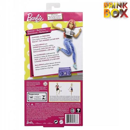 barbie articulada dançarina bailarina fjb19mattel