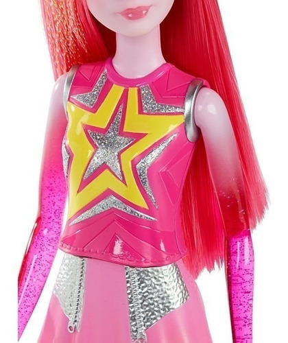 barbie - aventura nas estrelas - gêmeas galácticas - laranja