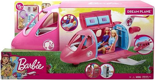 barbie - avion de los sueños jet privado - mattel gjb33