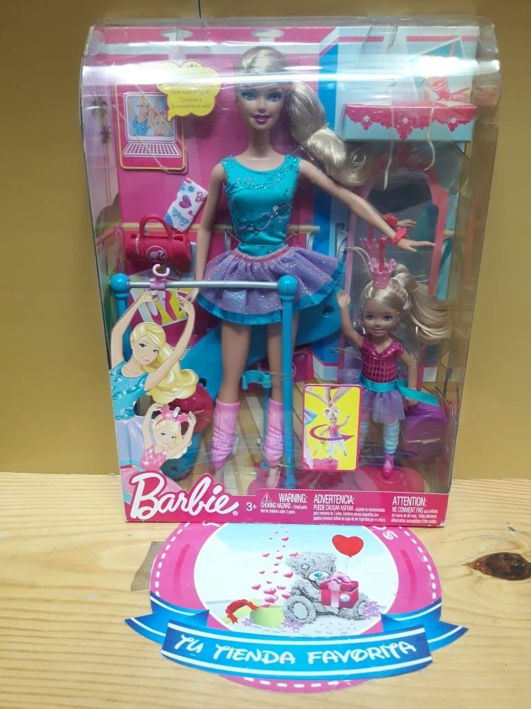 f464d25330 Barbie Bailarina De Ballet Completa Con Barbie Pequeña - S  200