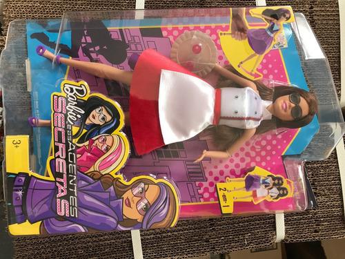 barbie - barbie e as agentes secretas - teresa com disfarce