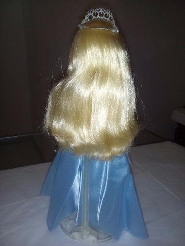 barbie bella durmiente y principe d coleccion con acsesorios
