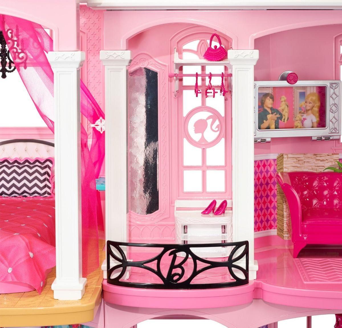 Super casa de bonecas da barbie dream house brinquedo r for Shop online casa