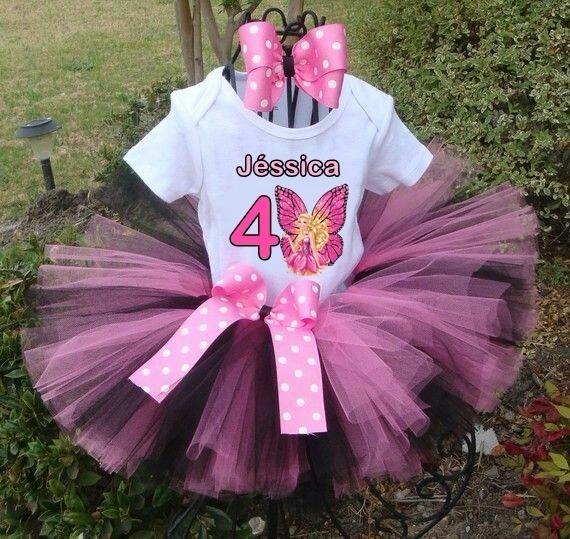 4b92a4fc0d Barbie Butterfly Fantasia Aniversário Tutu Festa Bailarina - R  93 ...