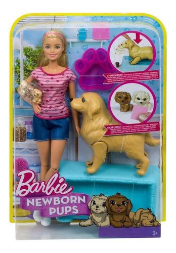 barbie cachorritos recién nacidos