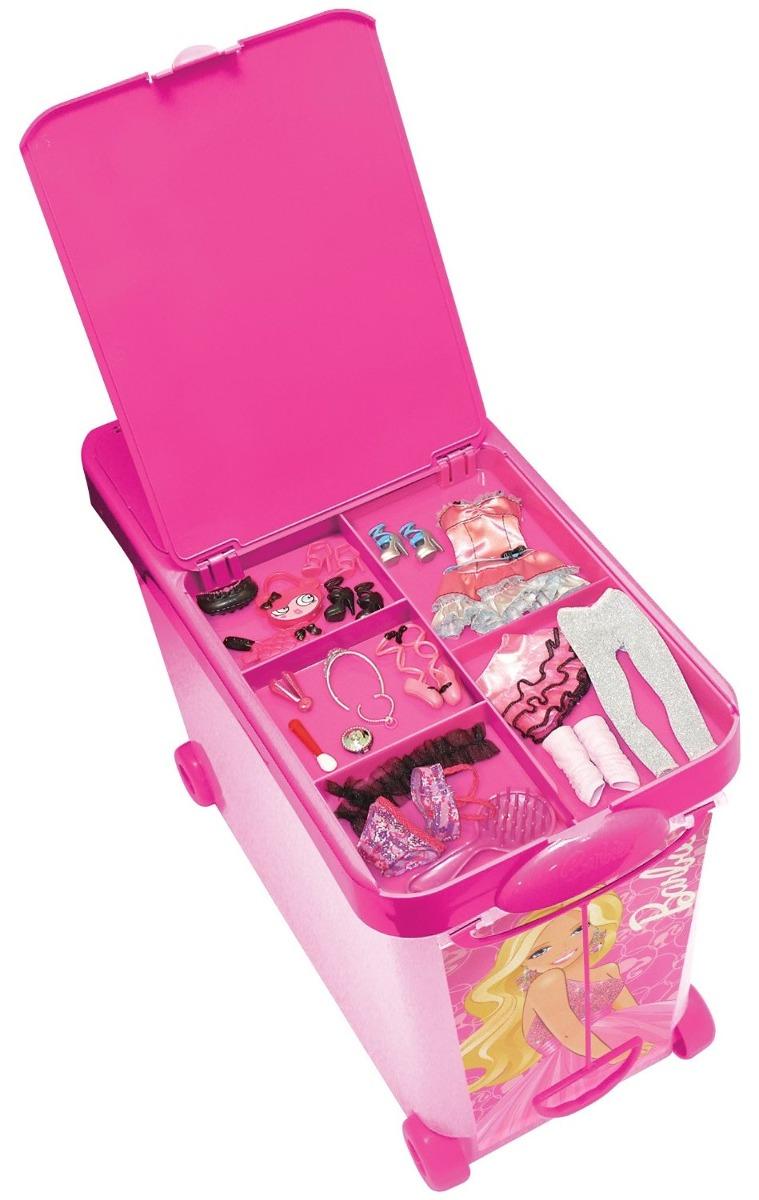 Barbie caja para almacenar juguetes barbie - Cajas para almacenar juguetes ...
