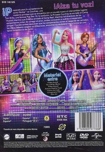 barbie campamento pop pelicula dvd