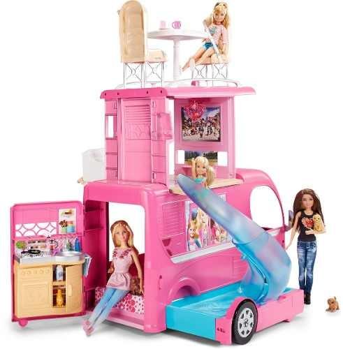 Toys For 8y Toys Rus : Barbie cámper de lujo  en mercado libre
