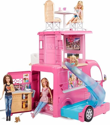 barbie- camper de lujo- mattel