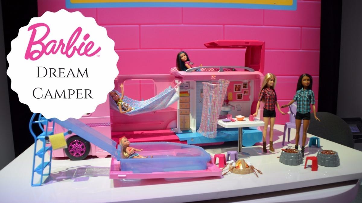 Barbie Camper De Lujo Modelo 2017 100 Original De Mattel