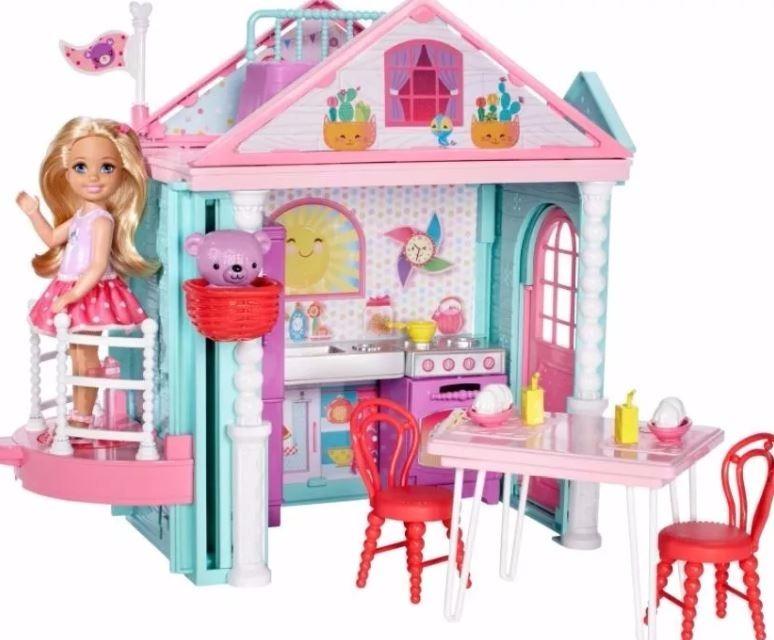 Barbie Casa Club Chelsea Munecas Mattel Oso Juegos Ninas 109 900