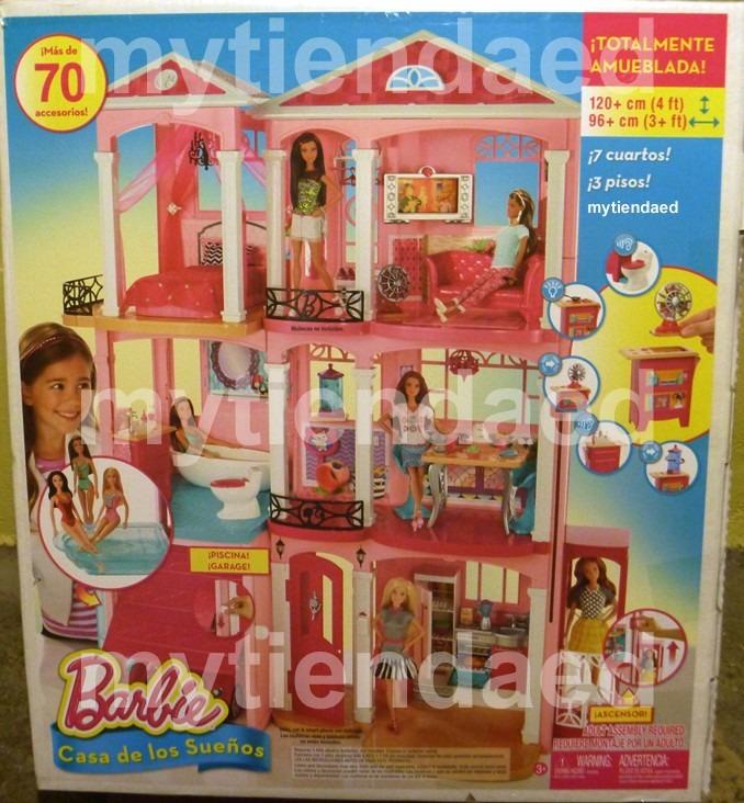 barbie casa de los sue os 4 en mercado libre