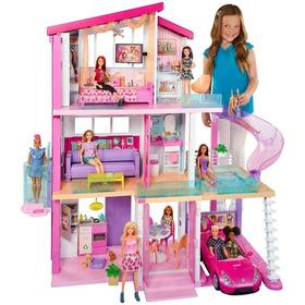 Barbie Casa De Los Sueños Original Mattel Inmediata + Muñeca