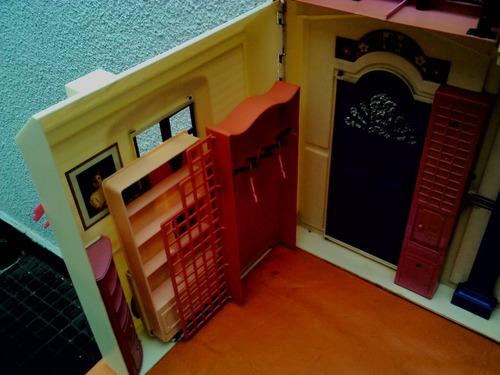 barbie casa grande antigua goldlok toys exelente años 90s
