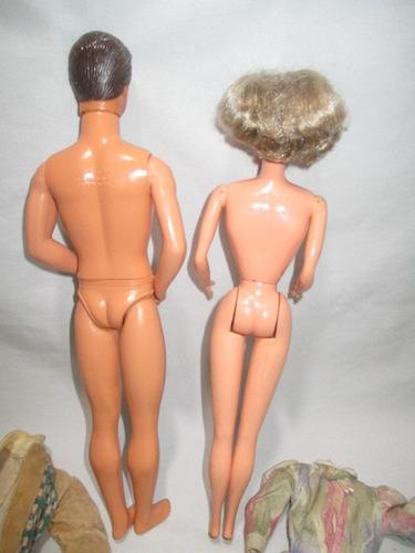 barbie casal vovô e vovó estrela anos 80