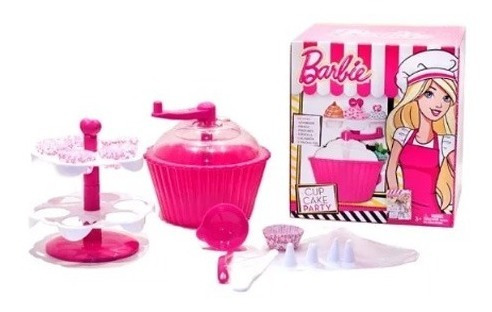 barbie chef cupcake party original de la tv