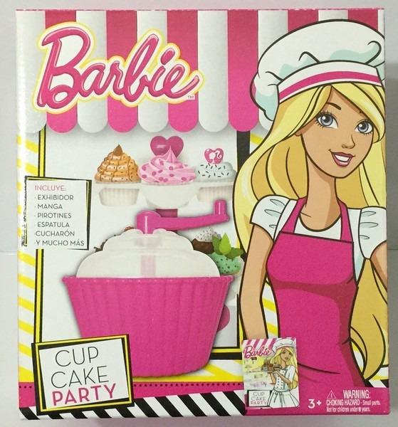 Barbie Chef Cupcake Party Tv Bb9993 1 398 05 En Mercado Libre