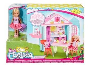 Te Casita De Con Barbie Chelsea Juego SMzUVp