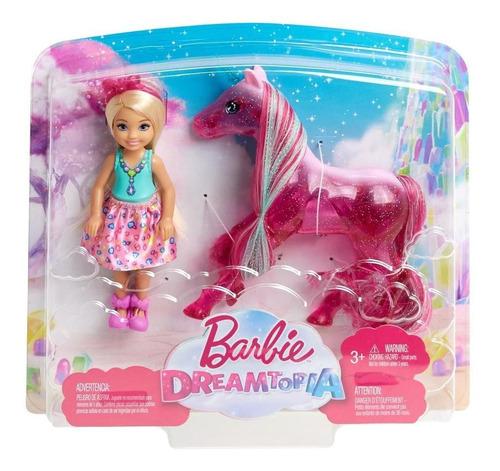 barbie chelsea con unicornio