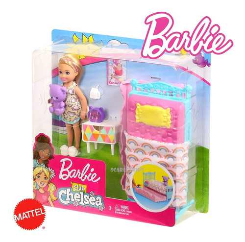 barbie + chelsea original mattel scarlet kids