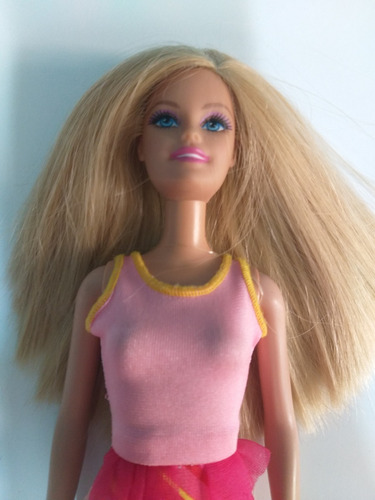 barbie chic básica vestido rosa